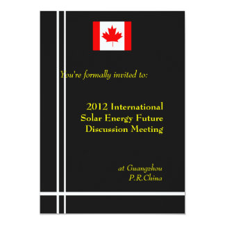 International, professional business meeting card