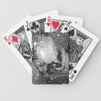 INTERNATIONAL PROSTAR I 81 SNOW NIGHT BICYCLE PLAYING CARDS