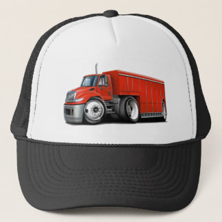 International Red Delivery Truck Trucker Hat