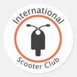 International Scooter Club Sticker
