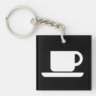 International Sign of the Coffeeeeeee Keychain