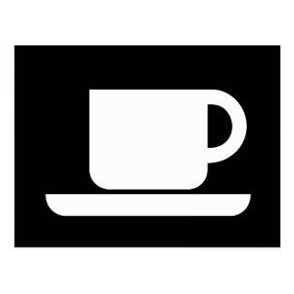 International Sign of the Coffeeeeeee Post Card
