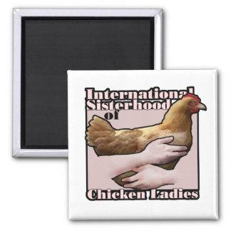 International Sisterhood of Chicken Ladies magnet
