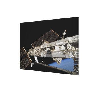 International Space Station 10 Canvas Print