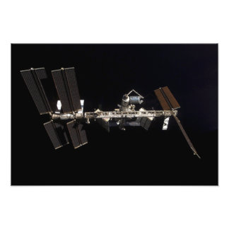 International Space Station 11 Photo Print