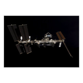 International Space Station 11 Poster