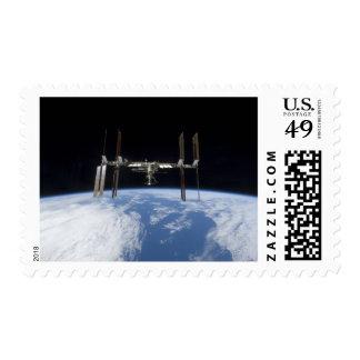 International Space Station 11 Stamp