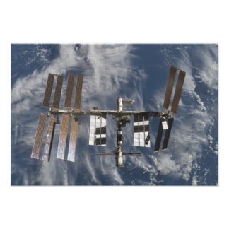 International Space Station 12 Photo Print