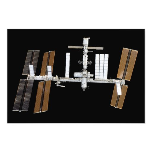 International Space Station 14 Photo Print