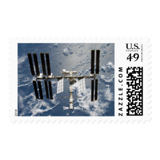 International Space Station 14 Postage Stamp