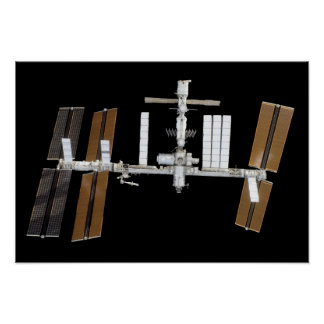 International Space Station 14 Poster