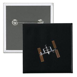 International Space Station 16 Pinback Button