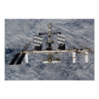 International Space Station 16 Poster