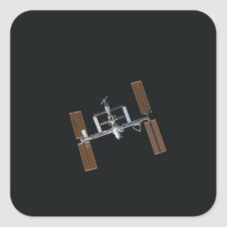 International Space Station 16 Square Sticker