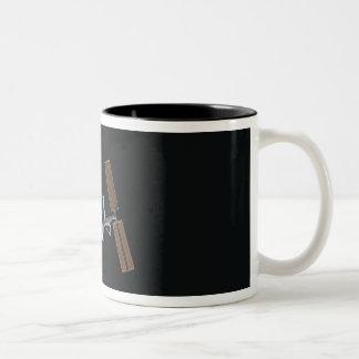 International Space Station 16 Two-Tone Coffee Mug