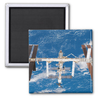 International Space Station 17 2 Inch Square Magnet