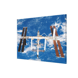 International Space Station 17 Canvas Print