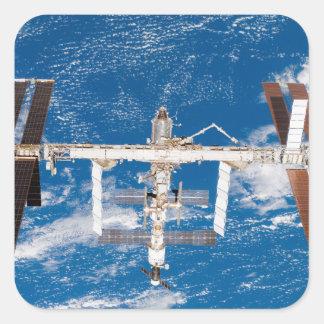 International Space Station 17 Square Sticker