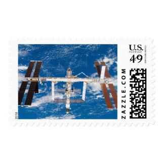 International Space Station 17 Stamp