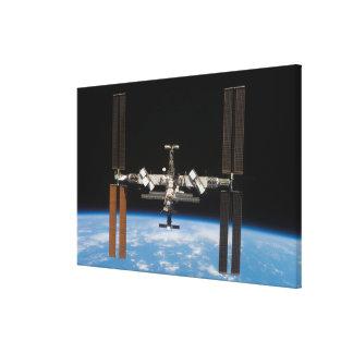 International Space Station 19 Canvas Print