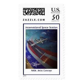 International Space Station 2007 Postage