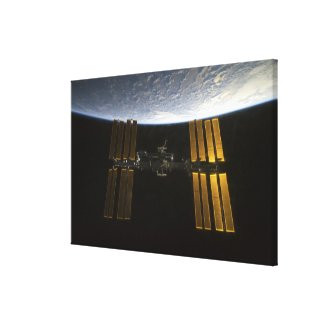 International Space Station 20 Canvas Print