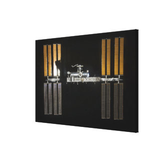 International Space Station 21 Canvas Print