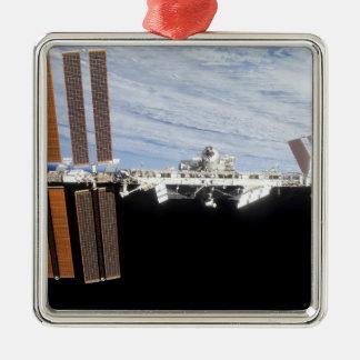 International Space Station 21 Metal Ornament