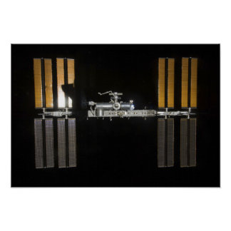 International Space Station 21 Poster