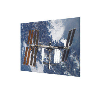 International Space Station 22 Canvas Print