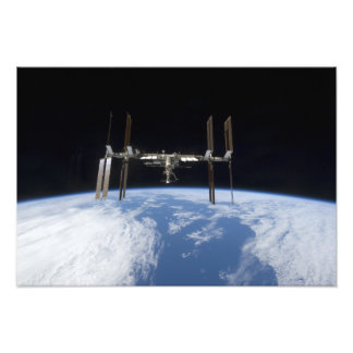 International Space Station 22 Photo Print