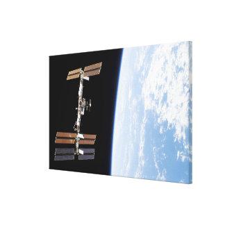 International Space Station 23 Canvas Print