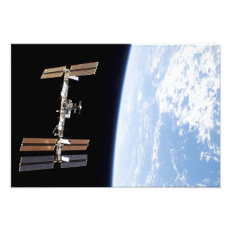 International Space Station 23 Photo Print