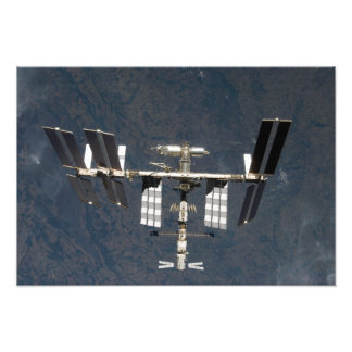 International Space Station 24 Photo Print