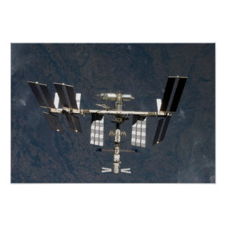 International Space Station 24 Poster
