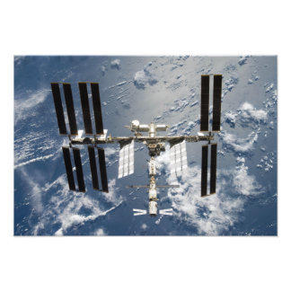 International Space Station 25 Photo Print