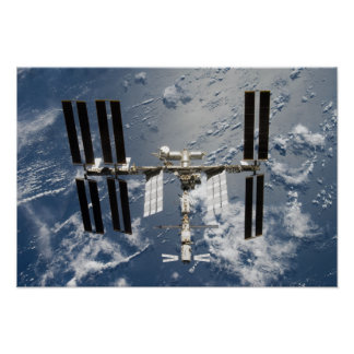 International Space Station 25 Poster