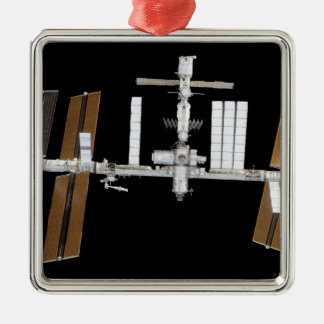 International Space Station 26 Metal Ornament