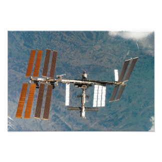 International Space Station 26 Photo Print