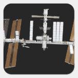 International Space Station 26 Square Sticker