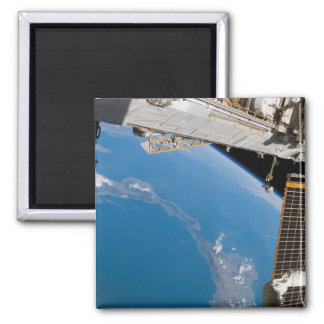 International Space Station 27 2 Inch Square Magnet