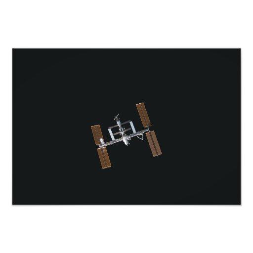 International Space Station 27 Photo Print