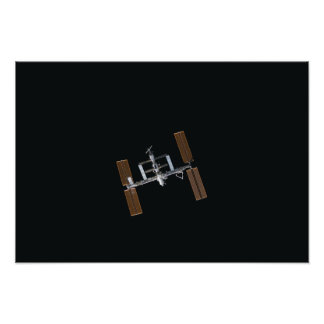International Space Station 27 Poster