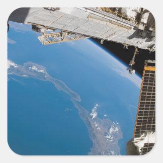 International Space Station 27 Square Sticker