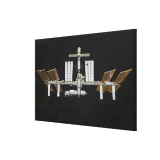 International Space Station 2 Canvas Print