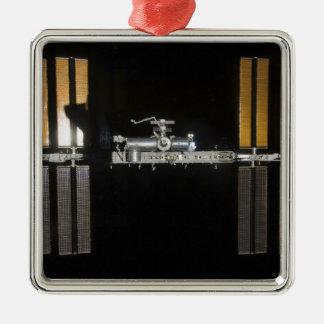 International Space Station 2 Metal Ornament