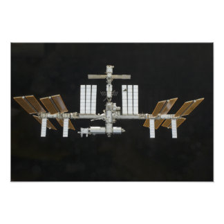 International Space Station 2 Photo Print