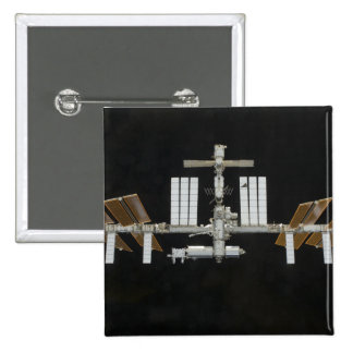 International Space Station 3 2 Inch Square Button