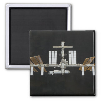 International Space Station 3 2 Inch Square Magnet