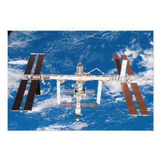 International Space Station 3 Photo Print